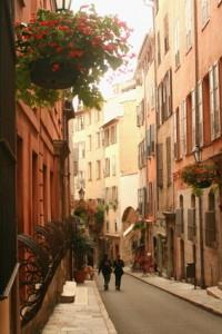 Ruelle de Grasse, centre historique